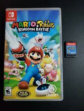 Mario + Rabbids Kingdom Battle Nintendo Interruptor Nrmt Estado Completo N Caja