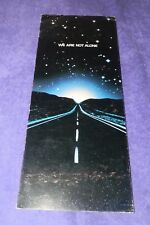 1977 Close Encounters of the Third Kind Move Advertising Brochure-Garr/Dryfuss