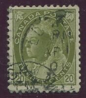 CANADA #84 USED F/VF DATED