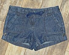 Size 0P Ann Taylor LOFT Boat Deck Jean Shorts
