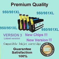 5xInk Cartridge HP 950/951XL OFFICEJET PRO 8100 8600 8600 PLUS 8610 8620 8630 V3