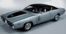 1971 Dodge Charger R/T GUNMETAL GRAY 1:18 Auto World 974