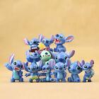 12Pcs Disney Studio Lilo&Stitch Mini Figure Toys Kids Cake Toppers PVC Figurines For Sale