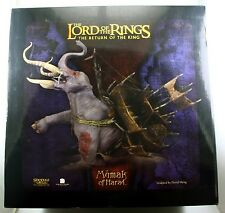 Lord of the Rings LOTR Return of the King Mumak of Harad Sideshow Weta Statue