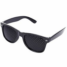 Lochbrille Rasterbrille - Augentraining Gitterbrille Pinhole Brille Sehkorrektur