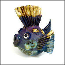 Little Puffer Fish by Maggie Betley from Zoo Ceramics - Original Pottery Art