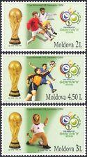 Moldova 2006 Football World Cup Championships/WC/Soccer/Sports/Games 3v (n16732)