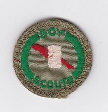 1960's UNITED KINGDOM (UK) / BRITISH SCOUTS - BOY SCOUT SCRIBE Proficiency Badge