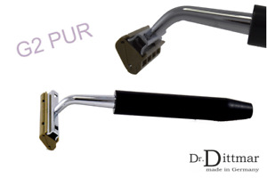 Dr.Dittmar Shaver Pur Compatible With Gillette G2 Gii Blades Duplo Wilkinson