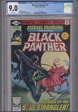 Marvel Premiere #53  CGC 9.0 1979 Marvel #3 Black Panther Comic