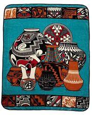 """Rancho El Cid Southwestern Style Plush Throw Blanket - Queen  79"""" x 95"""" TEPSBQ1"""