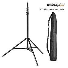 walimex pro WT-806 Lampenstativ maximale Höhe 256cm mit Federdämpfung und T