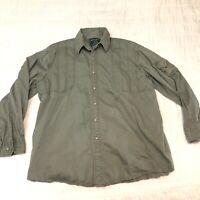 VTG John Rich & Bros Woolrich Ducks Unlimited Hunting Shirt Mens Size XL