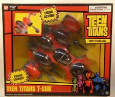 Teen Titans Go! T-Sub With Power Sounds, Firing Action & Combines DC (MISB)
