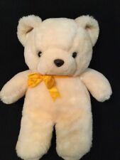 Animal Toy Ivory Cream Vintage 1985 Teddy Bear