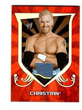 WWE Christian 2011 Topps Classic Event Worn Shirt Relic Card 3 Color BYB