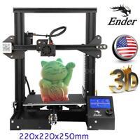 Creality Ender-3 3D Printer MK8 High-precision 220x220x250mm Large Resume Print