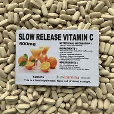 Los Vitamina Liberación Lenta Vitamin C 500mg 60 Tabletas - Embolsado
