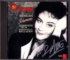 Nathalie STUTZMANN Signed SCHUMANN Liederkreis Op.24 Belsazar Romanzen Balladen