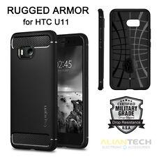 Original Spigen HTC U11 Case Rugged Armor with Retail Package