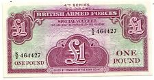 British Armed Forces   1 pound 1962     FDS  UNC    Pick M36 a   lotto 3401