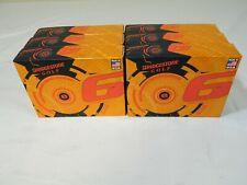Brand New 6 Dozen Bridgestone E-6 Orange Golf Balls - 6 dz e6 72 balls