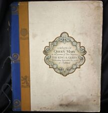 Cunard White Star QUEEN MARY Launch Booklet 1934