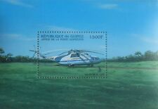 Helicopter MI-26 Aeroflot aviation s/s Guinea 1983 MNH #M018