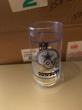 Dallas Cowboys Vintage Nfl 14oz Drinking Glass Tumbler Cup Mobil Promo