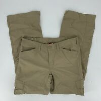 The North Face Womens Horizon Convertible Pants Size Small S Dune Beige NWT