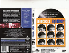 High Fidelity-2000-John Cusack-Movie-Dvd