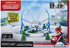 Mariokart - Infinity Loop - Motorized Deluxe Track Set - Includes Circuit Boucle