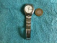Gents Seiko 5 7S26-0440 Stainless Steel Automatic Wrist Watch Fully Working