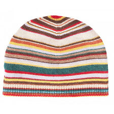 Paul Smith Beanie Hat - NEW Signature Multi-Stripe/ Cashmere mixed/RRP:69.00