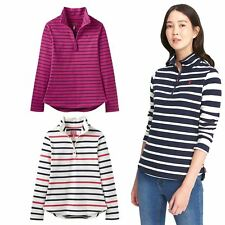Joules Fairdale Womens Equestrian Stripe Half Zip Ladies Horse Riding Sweatshirt