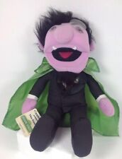 "Vintage Applause Sesame Street ""The Count"" Muppet Plush No Tag"