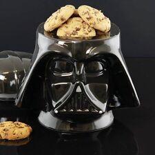Star Wars DARTH VADER Helmet COOKIE JAR Ceramic Biscuit Storage Container