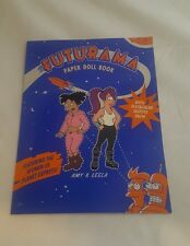 2001 Matt Groening Futurama Leela & Amy Paper Doll Book in Mint New Condition