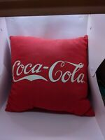 Coca Cola Red throw pillow collectable coke merch
