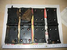 4 x Türband Beschlag Scharnier geschmiedet antik Türbänder Beschläge 6 x 20 cm