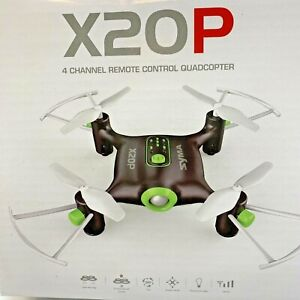 SYMA X20P Mini RC Quadcopter Pocket Drone 2.4Ghz Remote Control 4 Channel NEW