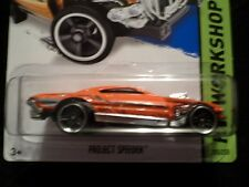 HW HOT WHEELS 2014 HW WORKSHOP #205/250 PROJECT SPEEDER HOTWHEELS ORANGE VHTF