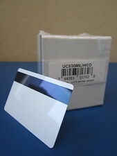 Lot of 100 30Mil Uc3 Hico Pvc Cards w/ Magnetic Stripe