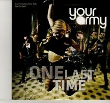 (DI268) Your Army, One Last Time - 2012 unopened DJ CD