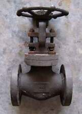 "Bonney Forge  1 1/2"" gate valve.  A105N body, CR13 stem and disc."