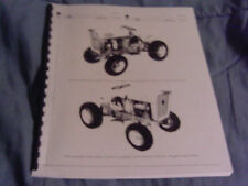 INTERNATIONAL CUB CADET PARTS CATALOG TRACTOR