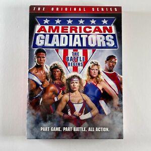 AMERICAN GLADIATORS the original series DVD REGION 1 NTSC