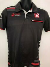 Haas Automation F1 Team Crew Polo Shirt Formula1 Grosjean Magnussen XS Small