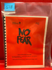 No Fear Pinball Operations/Service/Repair /Troubleshooting Manual Williams G78