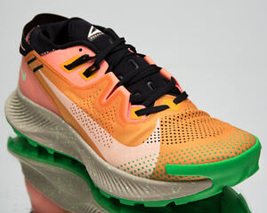 Nike Pegasus Trail 2 Men's Kumquat Crimson Black Running Jogging Shoes Sneakers